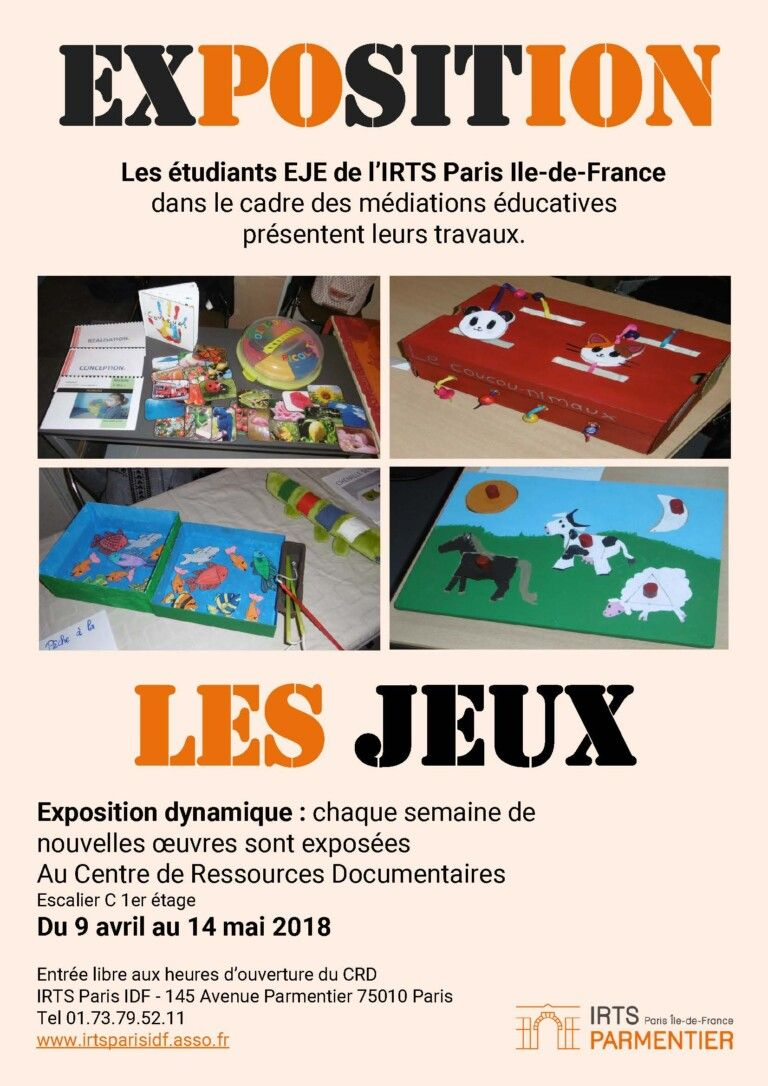 IRTS Paris île de France - ExpoJeux