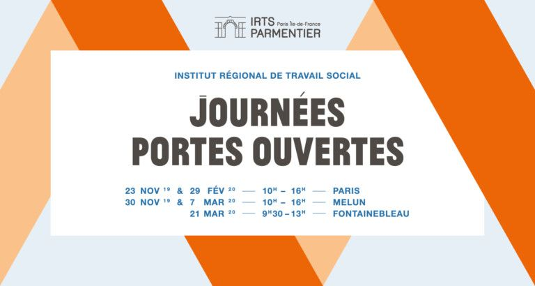 IRTS Paris IDF - dates JPO 2019 2020